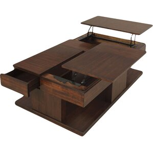 Darby Home Co Janene Coffee Table with Double Lift-Top Image