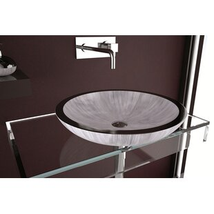 Maestro Bath Circular Vessel Bathroom Sink