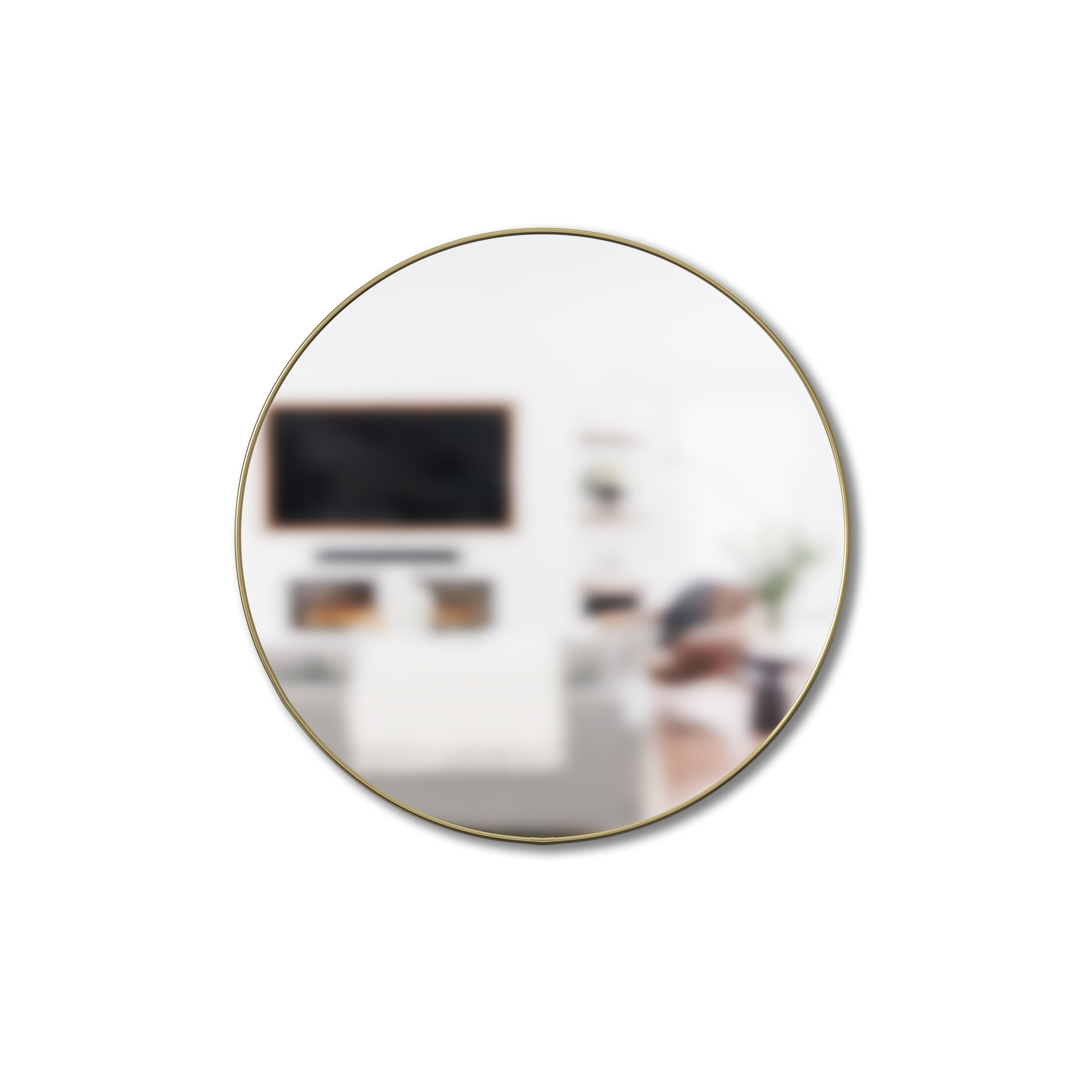 Horizontal And Vertical Round Wall Mirrors You Ll Love In 2020 Wayfair