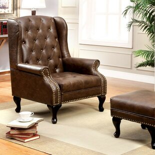 Affordable Price Antionette Wingback Chair by Darby Home Co Reviews (2019) & Buyer's Guide