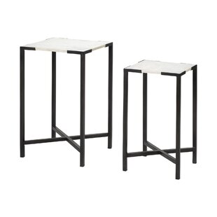 Best Choices Pearlie 2 Piece Nesting Tables by Brayden Studio