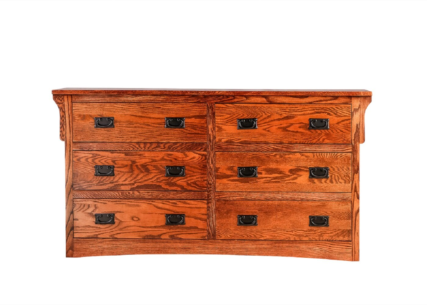 Millwood Pines Aske 6 Drawer Double Dresser Wayfair