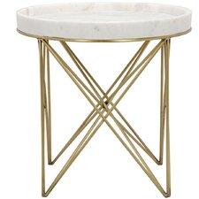 Prisma Metal End Table by Noir
