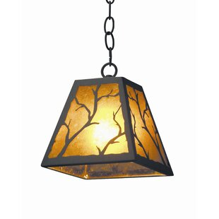 Branch 1-Light Square/Rectangle Pendant by 2nd Ave Design
