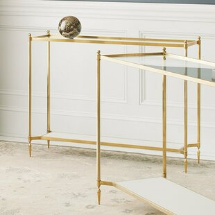 Pom Brass Console Table