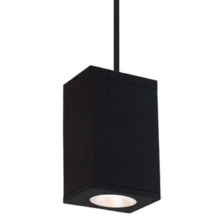 Cube 1-Light LED Outdoor Pendant