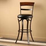 Sprecher 30 Swivel Bar Stool by Alcott Hill®