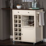Carnegie Kitchen Cart by Red Barrel Studio®