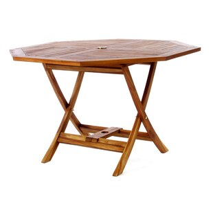 Humphrey Folding Teak Dining Table