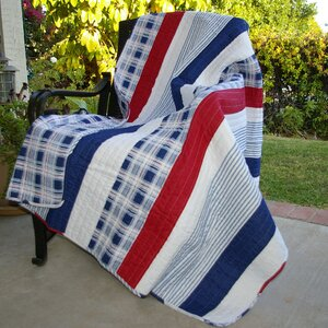 Radcliffe Stripe Cotton Throw