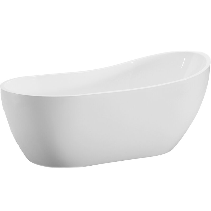 "Bathroom design! 54"" x 29"" Freestanding Soaking Bathtub"
