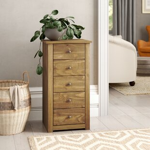 5 Drawers Chest Of Drawers By Natur Pur