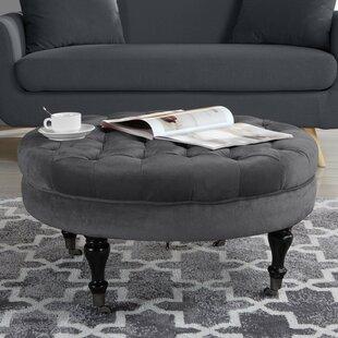 Roca Tufted Coffee Table by Charlton Home