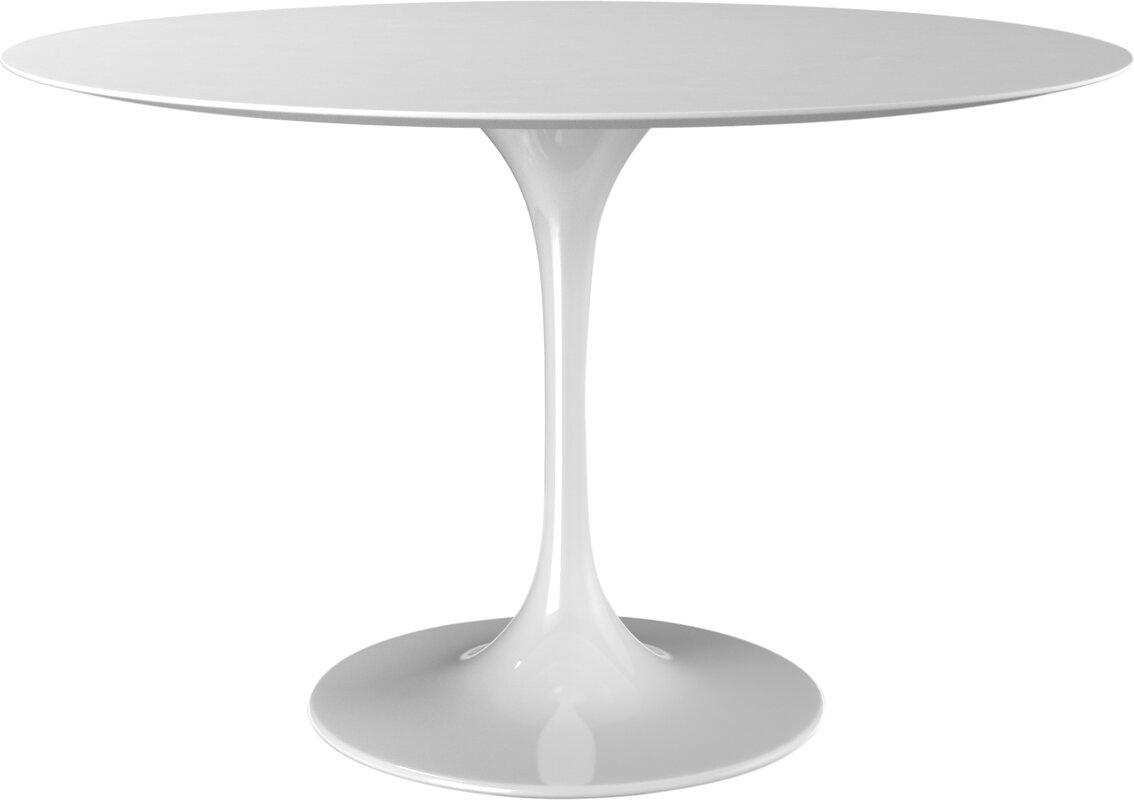 Round Saarinen style Dining Table