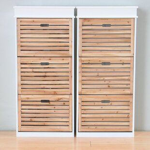 24 Pair Shoe Storage Cabinet By Beachcrest Home