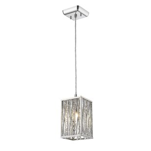 Kadyn 1-Light Square/Rectangle Pendant by Orren Ellis