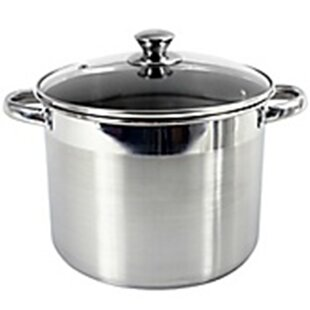 Heuck 16 Quart Encapsulated Stock Pot with Lid