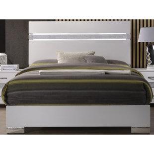 Orren Ellis Dewitt Upholstered Panel Bed