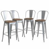 Rosenberry Bar & Counter Stool (Set of 4) by Williston Forge