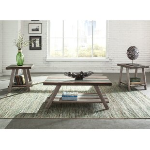 Kacey 3 Piece Coffee Table Set Mistana