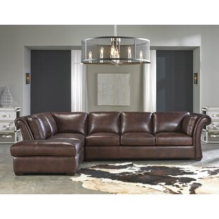 Lazzaro Leather Angelina Leather Sectional