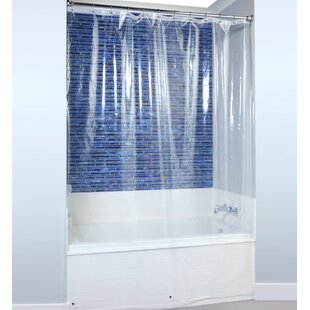 PEVA Shower Liner with Microban by SlipXSolutions