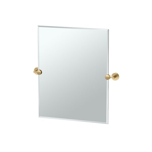Gatco Latitude II Rectangle Bathroom Wall Mirror Reviews