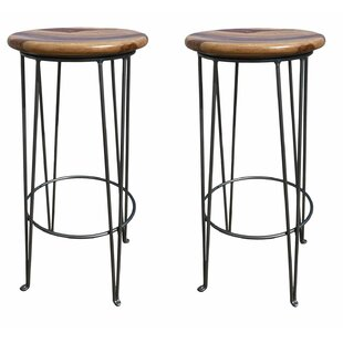 Garfield 31.5 Bar Stool (Set of 2) Millwood Pines