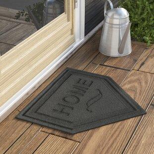 Superbe Home Plate Doormat | Wayfair