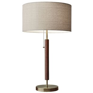 Modern contemporary wood base table lamp allmodern hyannis 2625 table lamp aloadofball Gallery