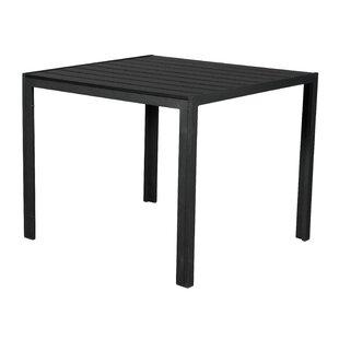 Lonergan Aluminium Dining Table By Ebern Designs