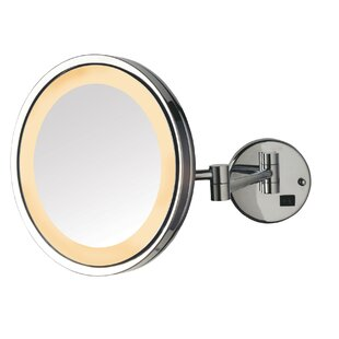 Best Price 9.5 LED Lighted Wall Mount Mirror By Jerdon