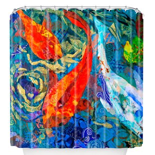 Koi Shower Curtain By East Urban Home