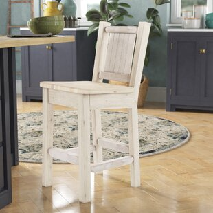 Abella Rustic 24 Bar Stool Loon Peak