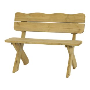 Meadow Bank Wooden Bench By Lesli Living