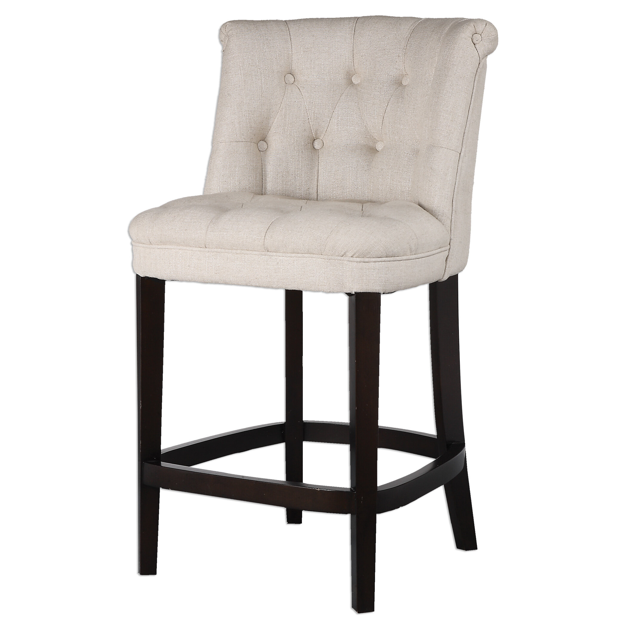 Fantastic Braeswood Tufted Counter Stool Dailytribune Chair Design For Home Dailytribuneorg