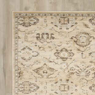 McCabe Ivory/Gray Area Rug by Charlton Home