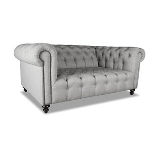 Darby Home Co Estill Plush Deep Chesterfield Sofa