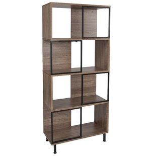 Delton Geometric Bookcase by Ebern Designs