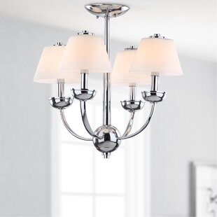 Safavieh 4-Light Shaded Chandelier