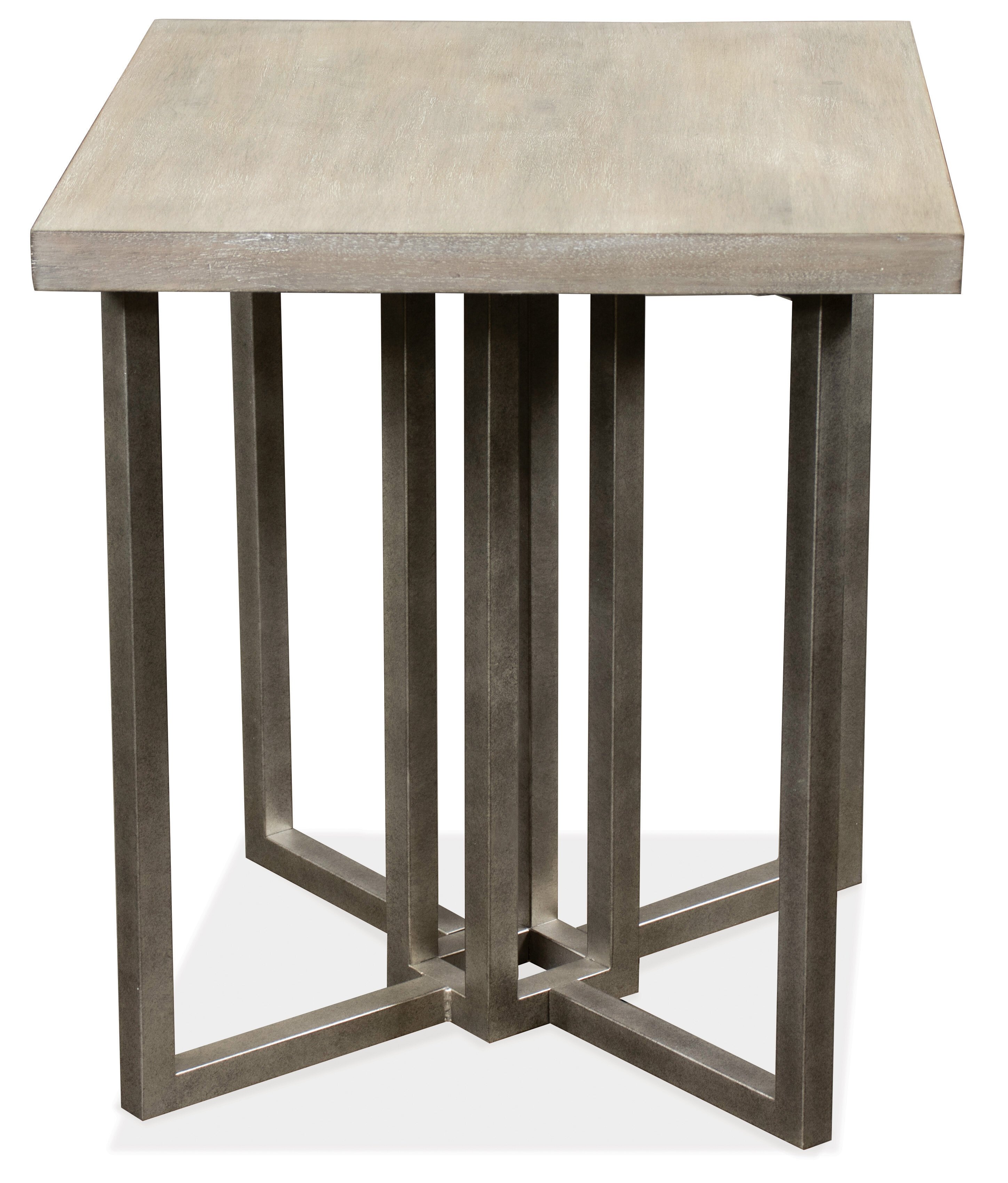 Gracie Oaks Adelyn Cross Legs End Table Wayfair