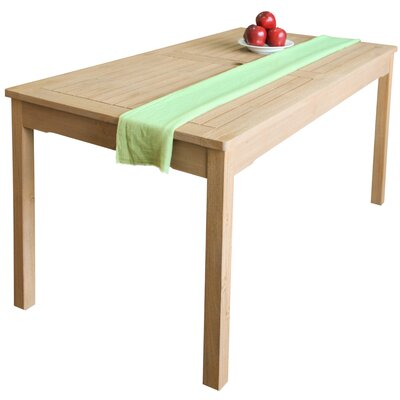 Baskerville Solid Wood Dining Table by Darby Home Co