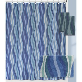 Landrum Wavelength Shower Curtain