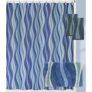 Landrum Wavelength Shower Curtain