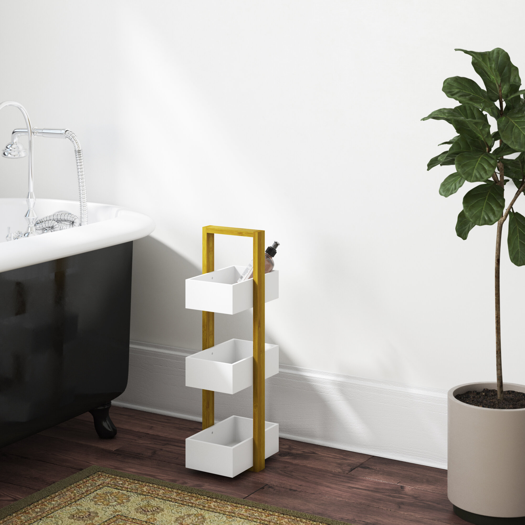 18 5 X 66 8cm Bathroom Storage Tray