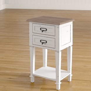 Fleurance Wood 2 Drawer Nightstand by Lark Manor
