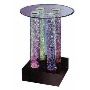Midwest Tropical Fountain Acrylic Aqua Dinette Table Fountain