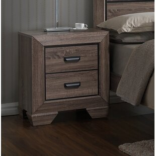 Willets 2 Drawer Nightstand