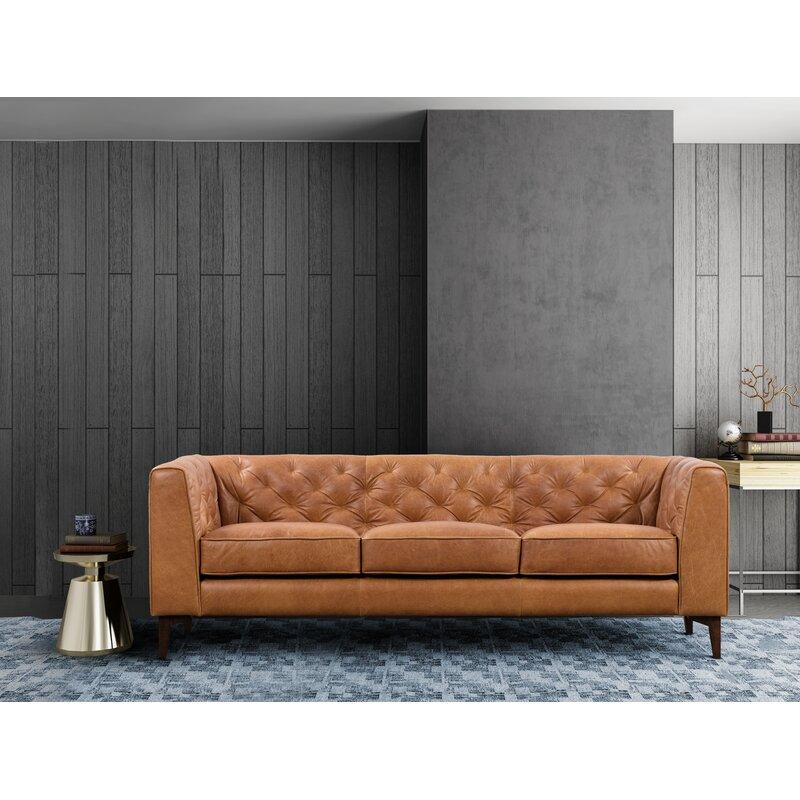Corrigan Studio Renae Leather Sofa