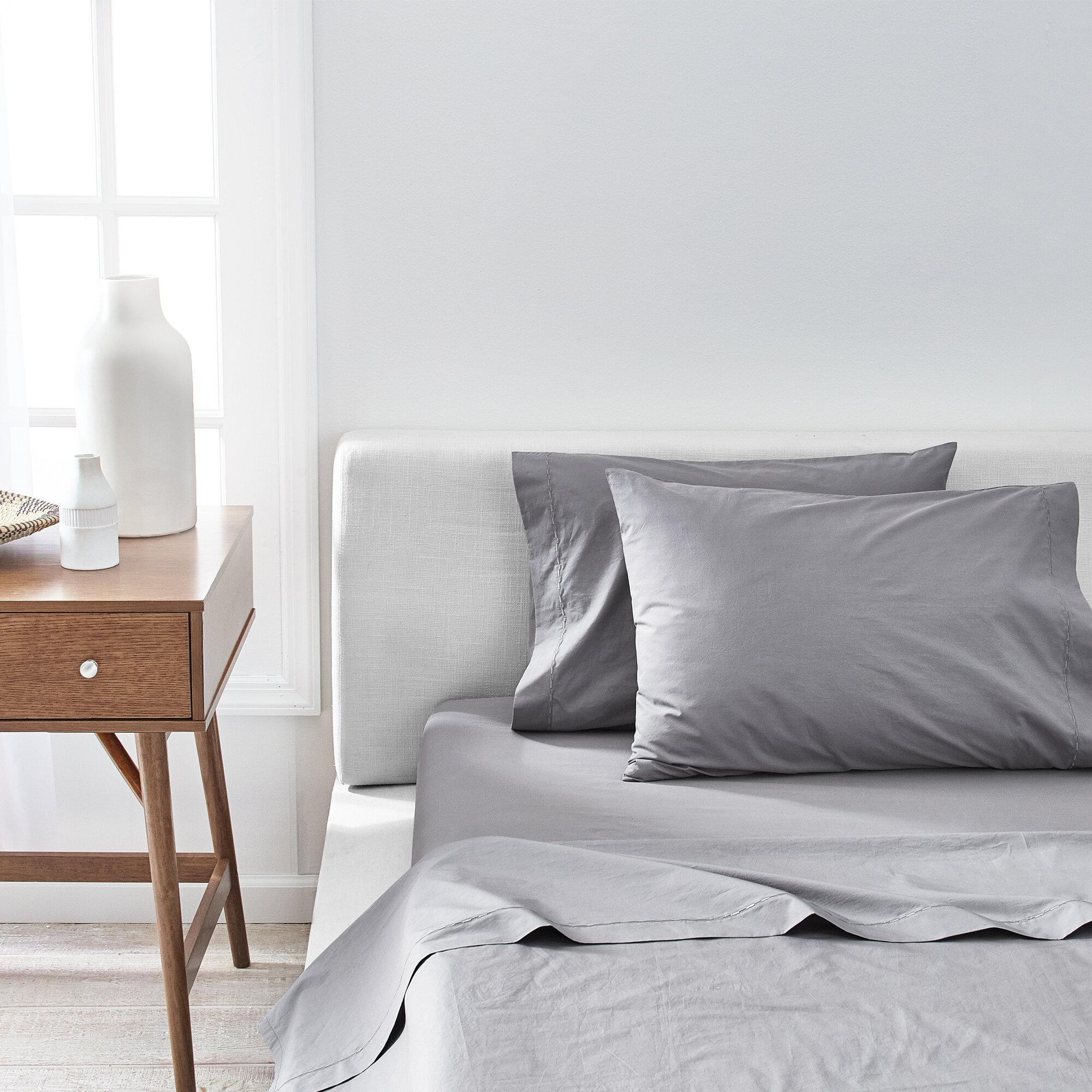Splendid Home Percale 400 Thread Count 100 Cotton Sheet Set Reviews Wayfair